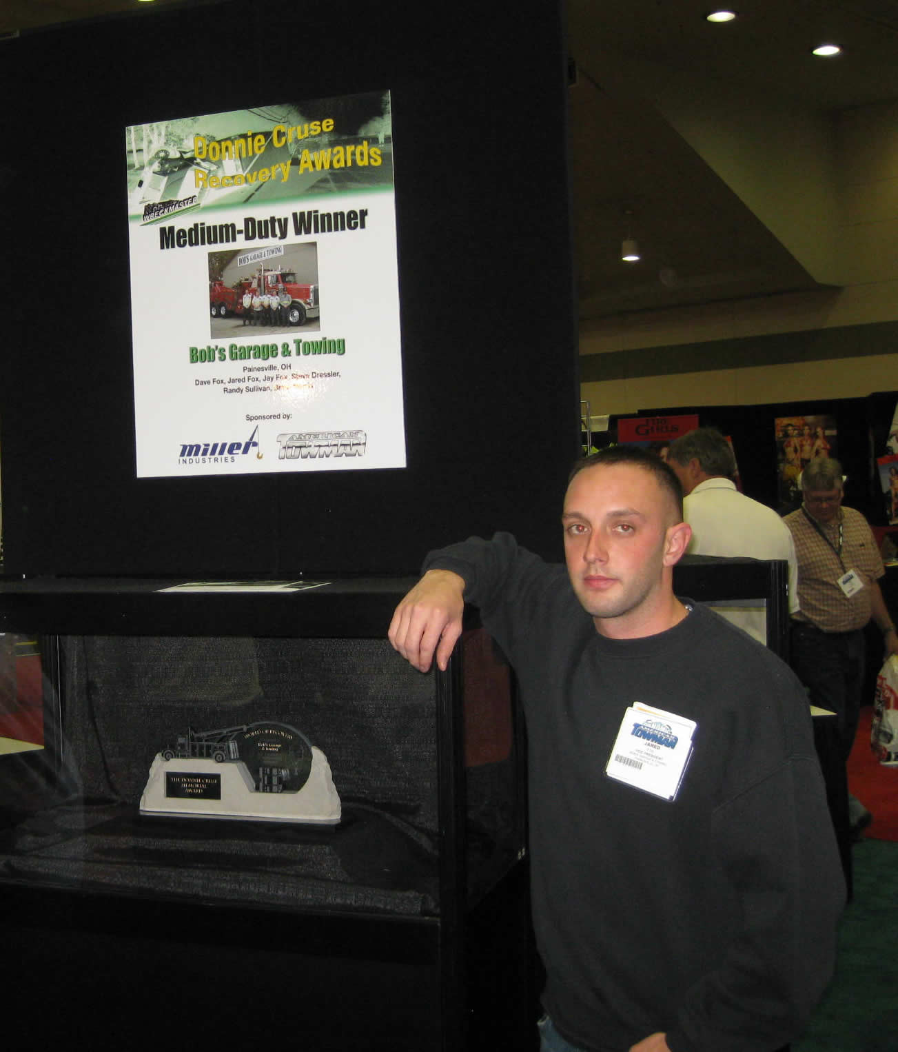 2009 Donnie Cruse Memorial Recovery Challenge Award Winner