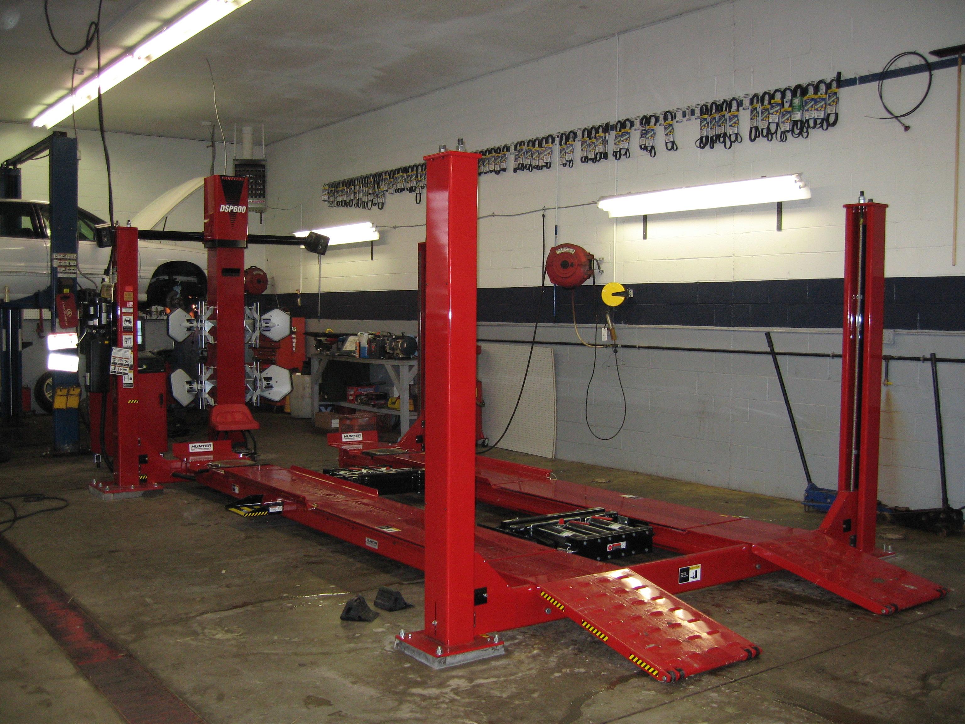 alinment machine